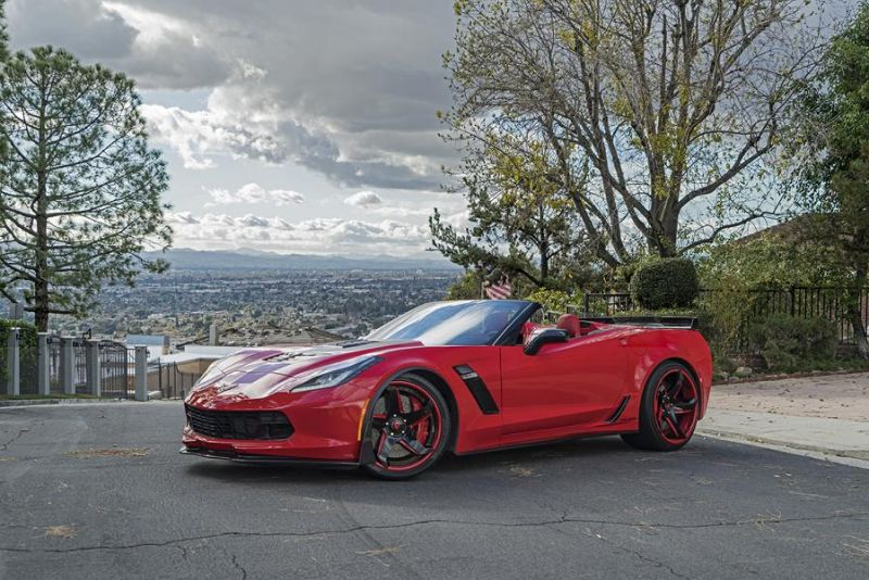 Callaway Corvette Z06 757PS Forgiato F2.21 ECL Tuning 1 Chevrolet Corvette Z06 mit 757PS und Forgiato Wheels Alu's