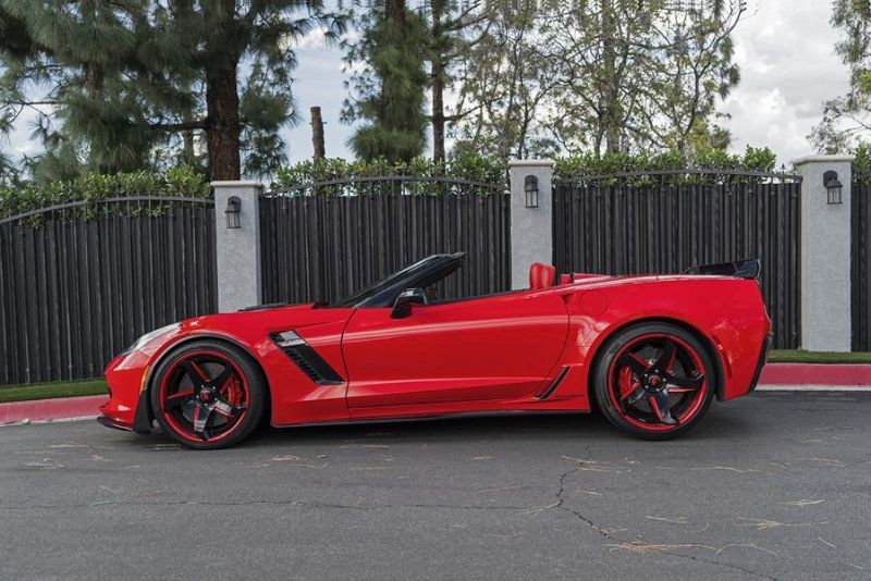 Callaway Corvette Z06 757PS Forgiato F2.21 ECL Tuning 3 Chevrolet Corvette Z06 mit 757PS und Forgiato Wheels Alu's