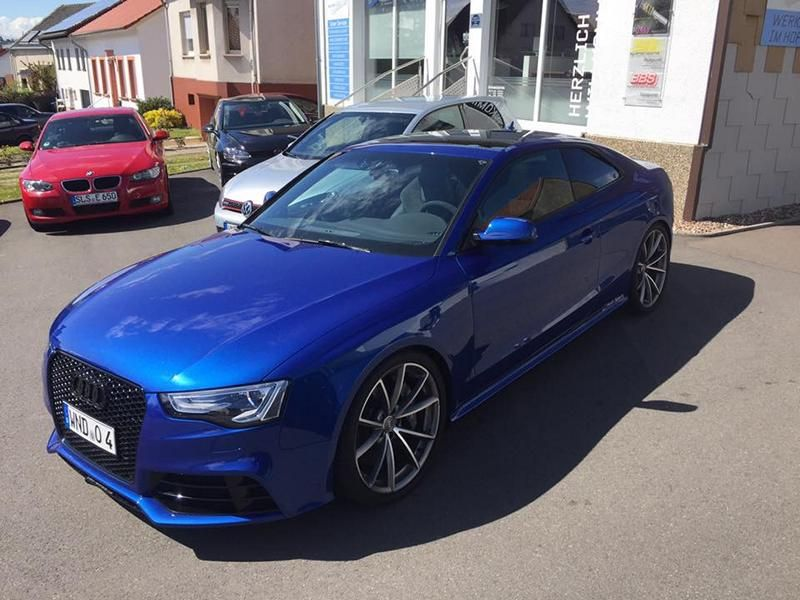 Car Solution Schmelz Audi RS5 Coupe KW Federn Tuning 1 Dezent   Car Solution Schmelz Audi RS5 Coupe mit KW Federn