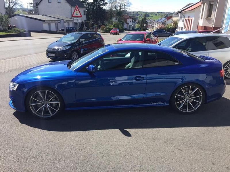 Car Solution Schmelz Audi RS5 Coupe KW Federn Tuning 2 Dezent   Car Solution Schmelz Audi RS5 Coupe mit KW Federn