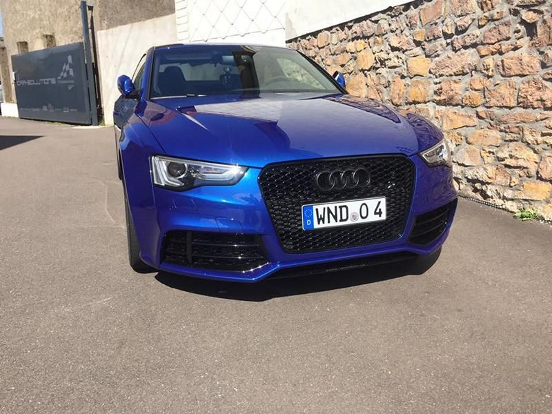Car Solution Schmelz Audi RS5 Coupe KW Federn Tuning 4 Dezent   Car Solution Schmelz Audi RS5 Coupe mit KW Federn