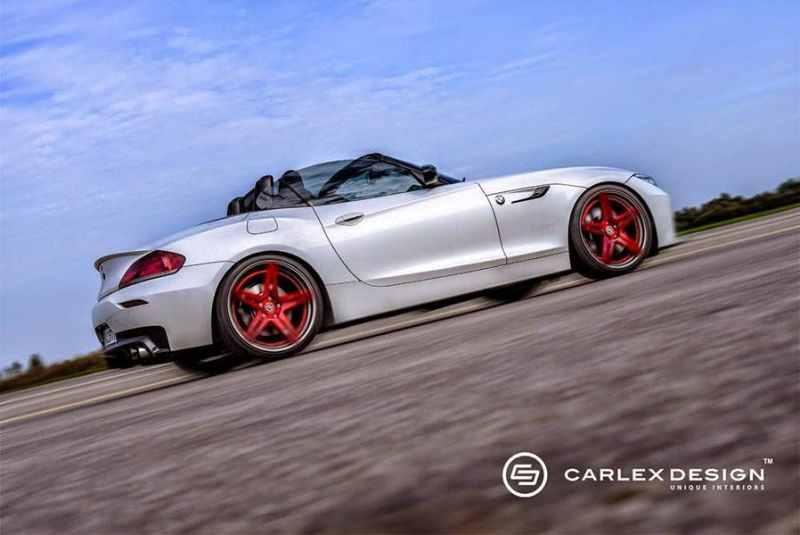 Carlex Design BMW Z4 E89 Cabrio Red Carbonic Tuning 1 Carlex Design   wunderschönes BMW Z4 Cabrio Red Carbonic