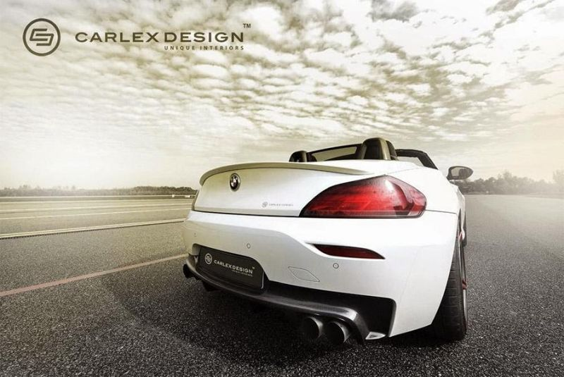 Carlex Design BMW Z4 E89 Cabrio Red Carbonic Tuning 2 Carlex Design   wunderschönes BMW Z4 Cabrio Red Carbonic
