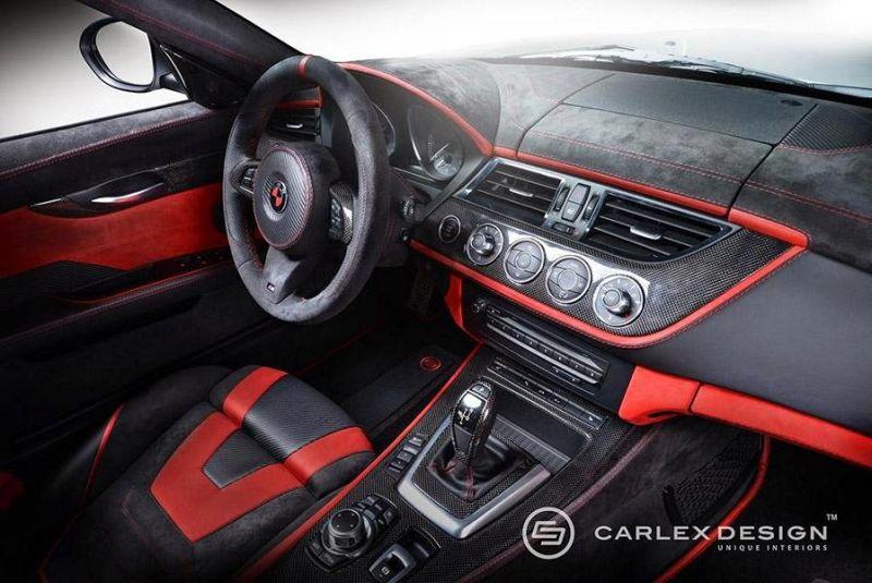 Carlex Design BMW Z4 E89 Cabrio Red Carbonic Tuning 7
