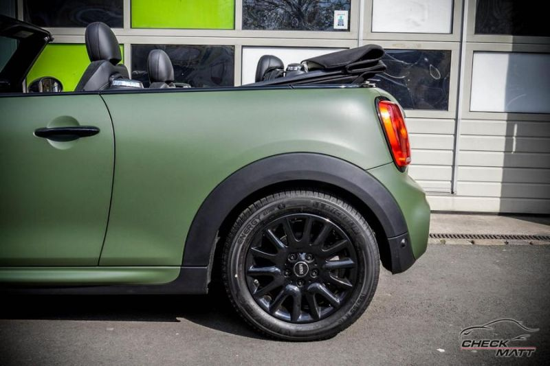 Check Matt Dortmund Folierung Mini Cooper Works Cabrio Tuning 2 Check Matt Dortmund   Folierung am Mini Cooper Works Cabrio