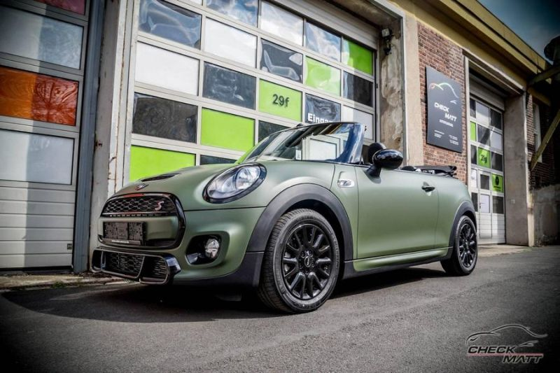 Check Matt Dortmund Folierung Mini Cooper Works Cabrio Tuning 3 Check Matt Dortmund   Folierung am Mini Cooper Works Cabrio