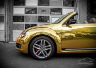 Check Matt Dortmund VW Beetle Cabrio Gold Chrom Folierung Tuning 5 190x135 Sehr cool   Check Matt Dortmund VW Beetle Cabrio in Gold