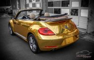Check Matt Dortmund VW Beetle Cabrio Gold Chrom Folierung Tuning 8 190x122 Sehr cool   Check Matt Dortmund VW Beetle Cabrio in Gold