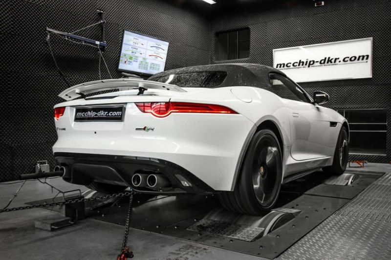 Chiptuning 550PS 680NM Jaguar F Type 5.0K SVR Mcchip DKR 1 550PS & 680NM im Jaguar F Type 5.0K SVR by Mcchip DKR