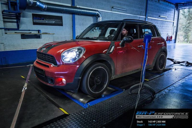 Chiptuning Mini Countryman 2.0 D BMW BR Performance 1 186PS im  BR Performance Mini Countryman 2.0 D