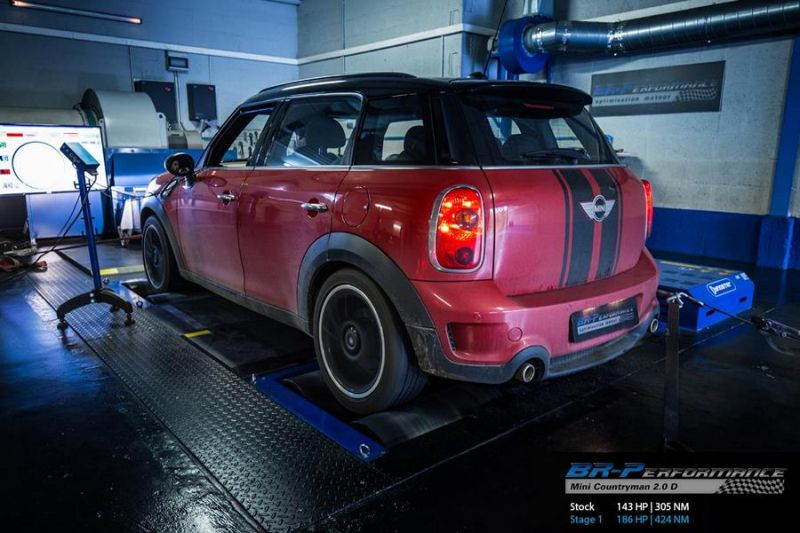 Chiptuning Mini Countryman 2.0 D BMW BR Performance 2 186PS im  BR Performance Mini Countryman 2.0 D