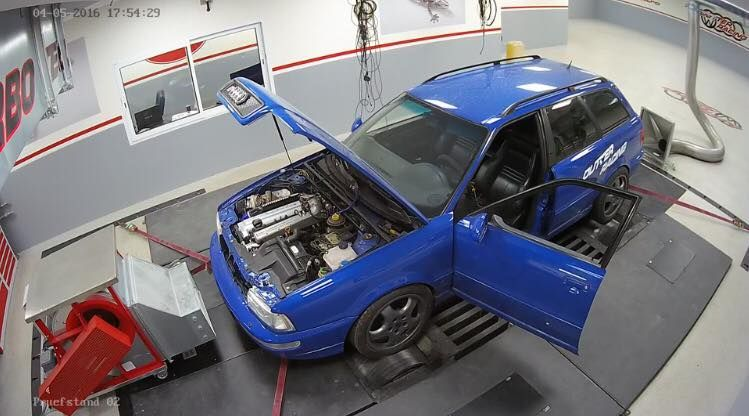 Dutter Racing Audi RS2 Tuning 2 Video: Irres rumgeballer   Dutter Racing 605PS Audi RS2 Tuning