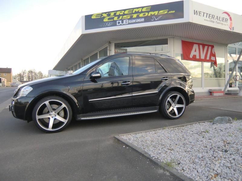 Extreme Customs Germany Mercedes ML63 AMG 22 Zoll Concavo CW 5 Tuning 2 Extreme Customs Germany Mercedes ML63 AMG auf 22 Zoll