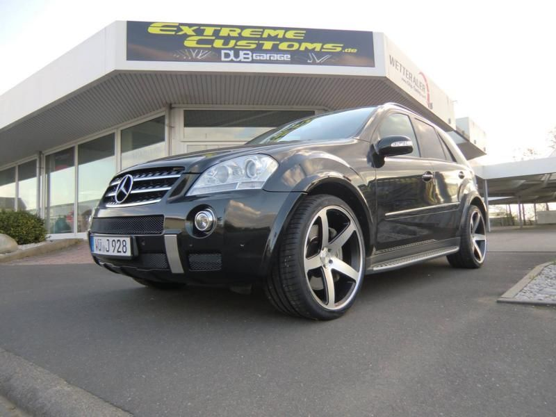 Extreme Customs Germany Mercedes ML63 AMG 22 Zoll Concavo CW 5 Tuning 3 Extreme Customs Germany Mercedes ML63 AMG auf 22 Zoll