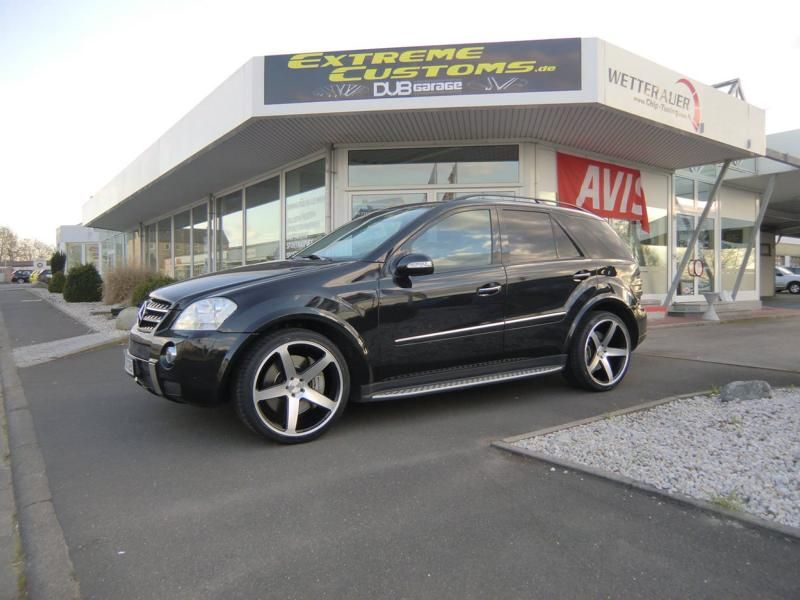 Extreme Customs Germany Mercedes ML63 AMG 22 Zoll Concavo CW 5 Tuning 4 Extreme Customs Germany Mercedes ML63 AMG auf 22 Zoll