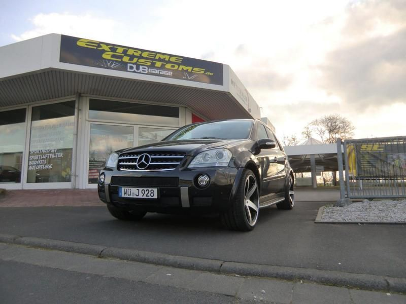 Extreme Customs Germany Mercedes ML63 AMG 22 Zoll Concavo CW 5 Tuning 5 Extreme Customs Germany Mercedes ML63 AMG auf 22 Zoll