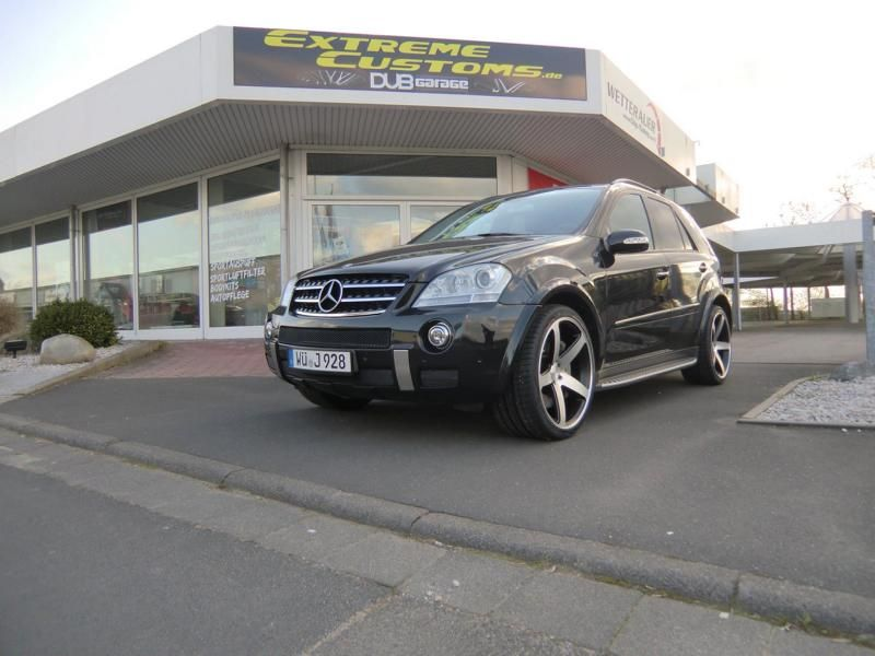 Extreme Customs Germany Mercedes ML63 AMG 22 Zoll Concavo CW 5 Tuning 6 Extreme Customs Germany Mercedes ML63 AMG auf 22 Zoll