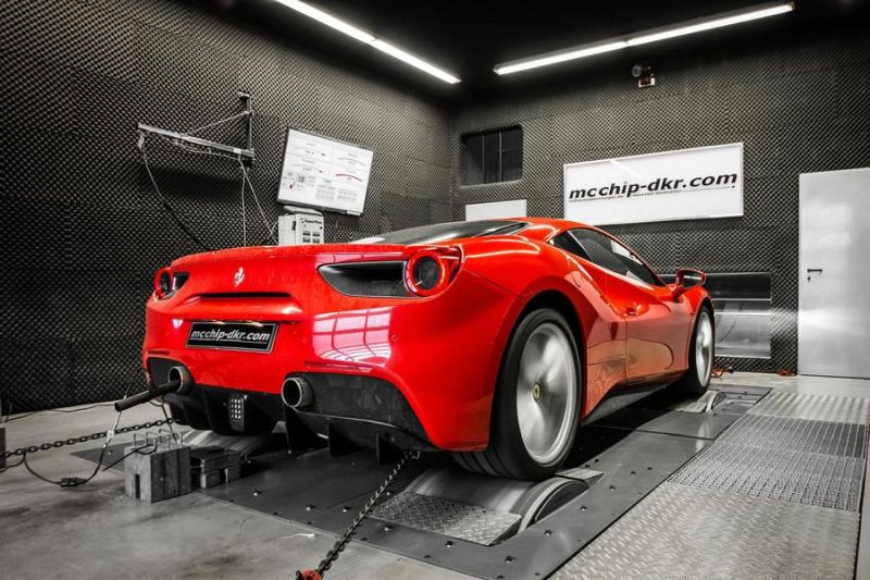 Ferrari F488 GTB 4.0 Turbo Mcchip DKR Chiptuning 1 Ferrari F488 GTB 4.0 Turbo mit 722PS by Mcchip DKR SoftwarePerformance