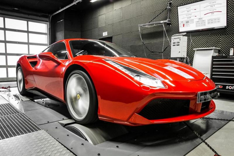 Ferrari F488 GTB 4.0 Turbo Mcchip DKR Chiptuning 2 Ferrari F488 GTB 4.0 Turbo mit 722PS by Mcchip DKR SoftwarePerformance