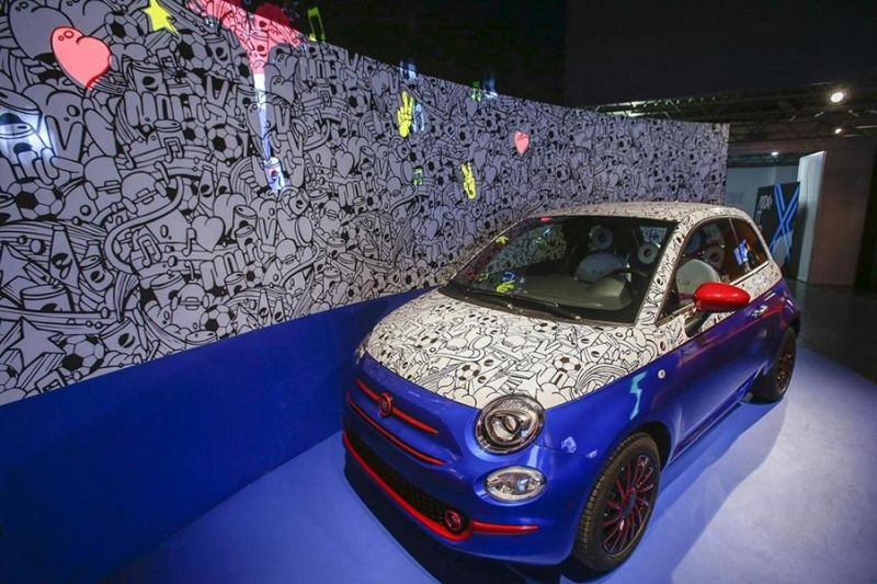 Fiat 500 Pepsi Car Garage Italia Customs Tuning 1 Fotostory: Fiat 500 Pepsi Car von Garage Italia Customs