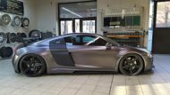 Folienwerk NRW Audi R8 Widebody Satin Grey Prior Design PD850GT Tuning 4 190x107 Folienwerk NRW Audi R8 Widebody in Satin Grey
