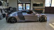 Folienwerk NRW Audi R8 Widebody Satin Grey Prior Design PD850GT Tuning 8 190x107 Folienwerk NRW Audi R8 Widebody in Satin Grey