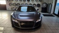 Folienwerk NRW Audi R8 Widebody Satin Grey Prior Design PD850GT Tuning 9 190x107 Folienwerk NRW Audi R8 Widebody in Satin Grey