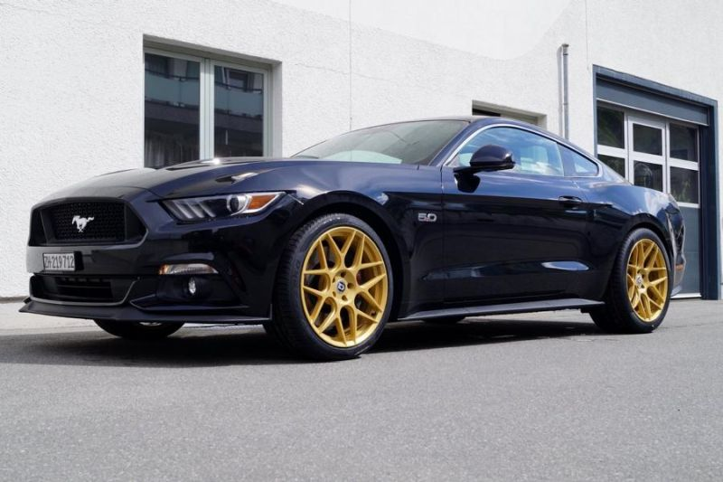 Ford Mustang GT 5.0 HRE FF01 cartech.ch Tuning 4