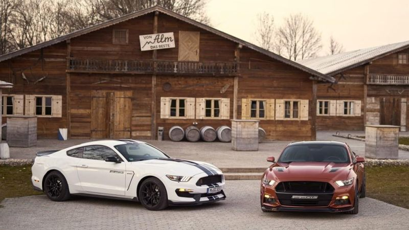 Ford Mustang GT 820 GeigerCars Tuning 2 Mehr Mustang   Ford Mustang GT 820 von GeigerCars