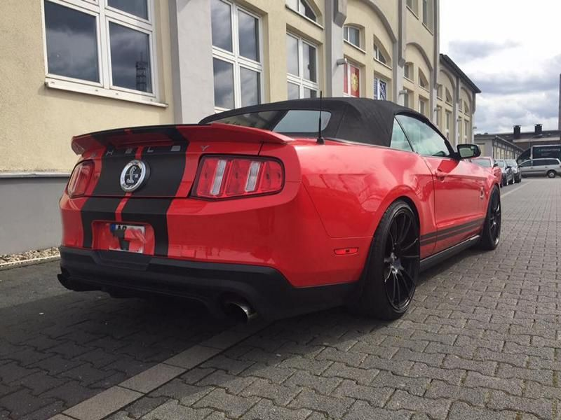 Ford Mustang Shelby GT500 KW V3 Gewinde OZ 20 Zoll by MR Racing Tuning 2 Ford Mustang Shelby GT500 mit KW V3 Gewinde & OZ 20 Zoll by MR Racing