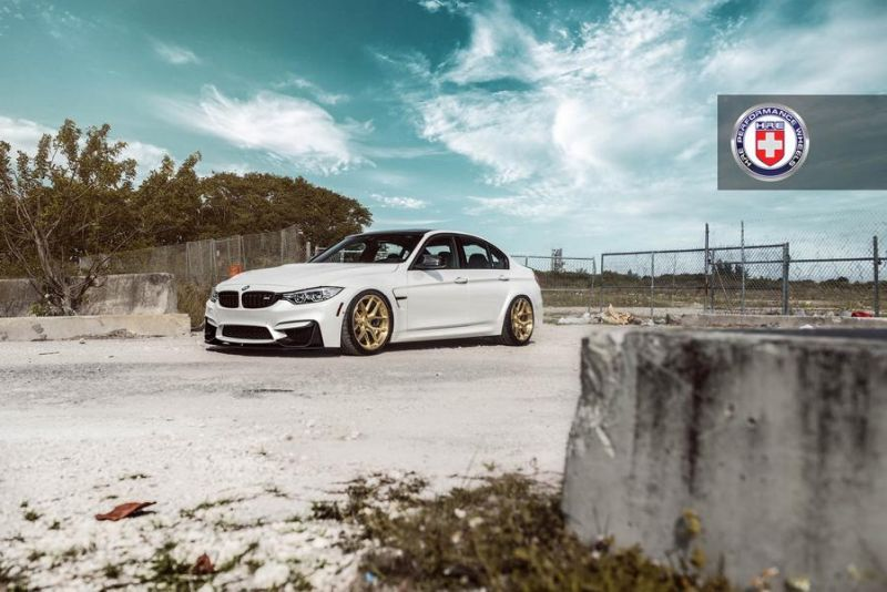 HRE Performance Wheels R101 BMW M3 F80 Tuning 2 Top   HRE Performance Wheels R101 am BMW M3 F80