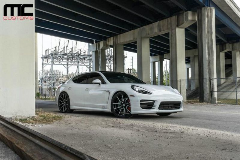 Lexani Wheels Alufelgen MC Customs Porsche Panamera Tuning 1 Lexani Wheels Alu's am MC Customs Porsche Panamera