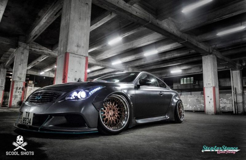 Liberty Walk Widebody-Kit Infiniti G37 Q60 Tuning 12
