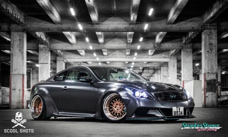 Liberty Walk Widebody-Kit Infiniti G37 Q60 Tuning 13