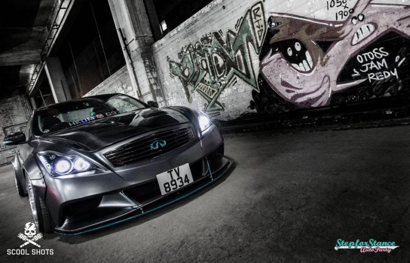 Liberty Walk Widebody-Kit Infiniti G37 Q60 Tuning 14