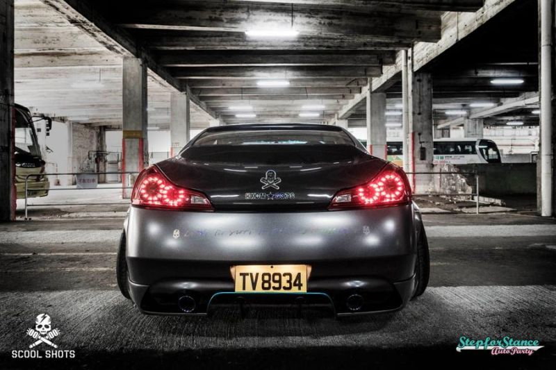 Liberty Walk Widebody-Kit Infiniti G37 Q60 Tuning 4