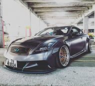Liberty Walk Widebody Kit Infiniti G37 Q60 Tuning 7 190x172 Mega heftig   Liberty Walk Widebody Kit am Infiniti G37s