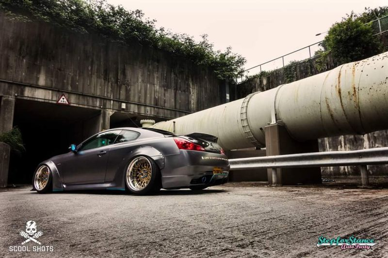 Libertywalk Widebody-Kit Infiniti G37s Q60 Breitbau Tuning 2