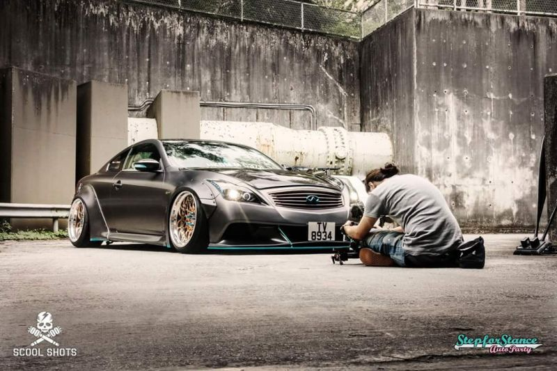 Libertywalk Widebody-Kit Infiniti G37s Q60 Breitbau Tuning 3