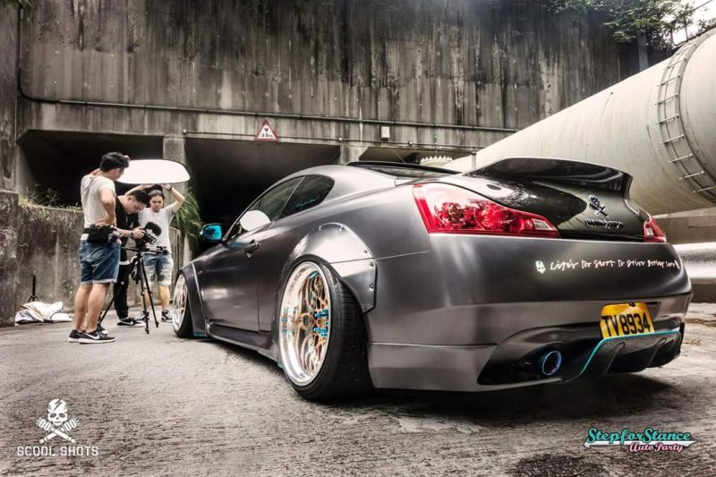 Libertywalk Widebody-Kit Infiniti G37s Q60 Breitbau Tuning 4