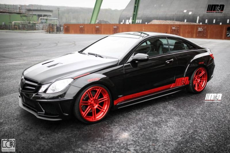 MD Mercedes E Klasse Coupe 500 W207 Prior Design PD850 Widebodykit Tuning 1 M&D   Mercedes E Klasse Coupe 500 mit Prior Design PD850 Widebodykit