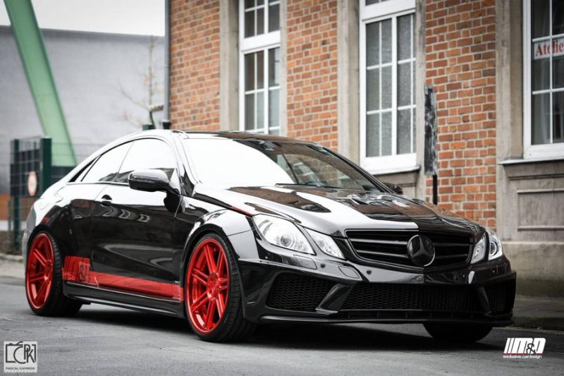 MD Mercedes E Klasse Coupe 500 W207 Prior Design PD850 Widebodykit Tuning 3 M&D Mercedes E Klasse Coupe 500 mit Prior Design PD850 Widebodykit