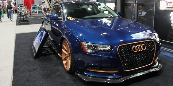 Magnaflow Project Blue Copper Audi A5 2013 Sema