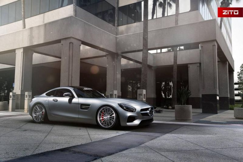 Mercedes-AMG GT S 20 Zoll Zito Wheels ZS15 Tuning 1