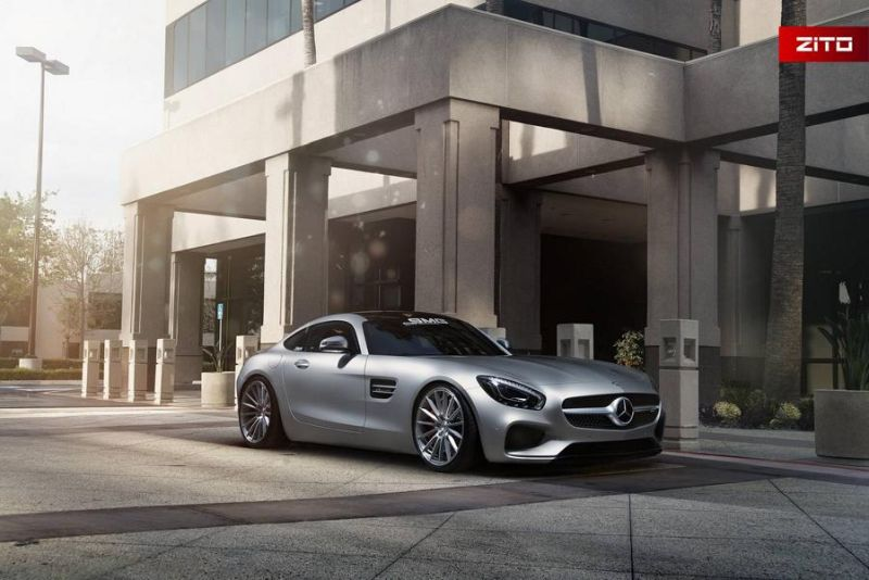 Mercedes-AMG GT S 20 Zoll Zito Wheels ZS15 Tuning 3