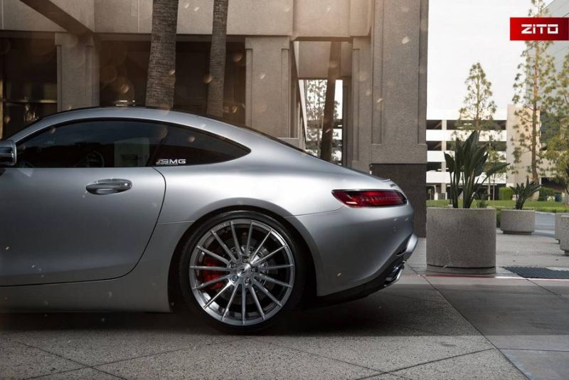 Mercedes-AMG GT S 20 Zoll Zito Wheels ZS15 Tuning 4