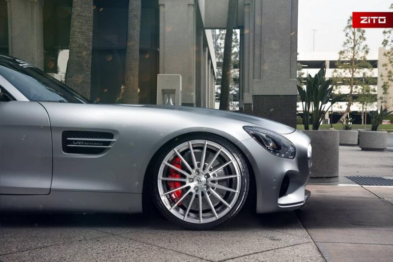 Mercedes-AMG GT S 20 Zoll Zito Wheels ZS15 Tuning 5