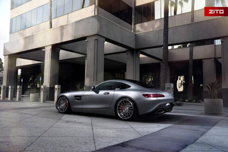 Mercedes-AMG GT S 20 Zoll Zito Wheels ZS15 Tuning 6
