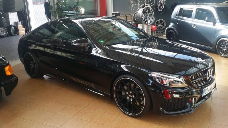 Mercedes Benz C-Coupe W205 Inden Design Tuning 20 Zoll (11)