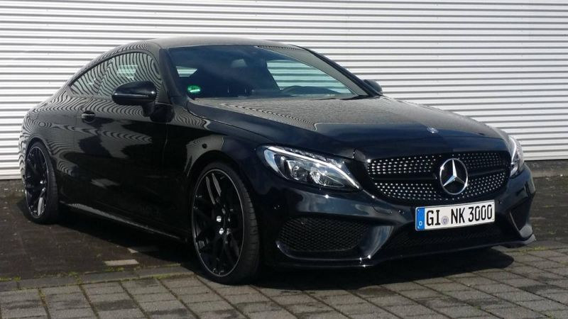 Mercedes Benz C-Coupe W205 Inden Design Tuning 20 Zoll (12)